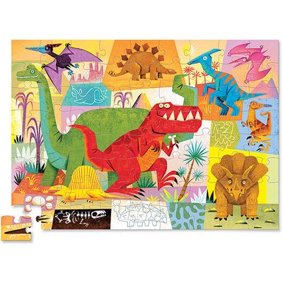 Dinosaur Shaped Puzzle (72pc)