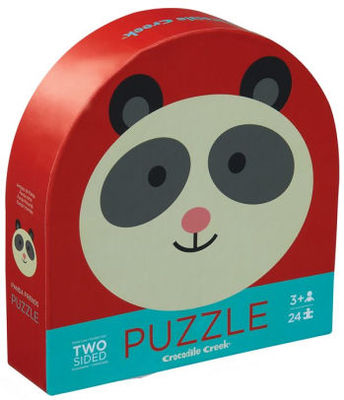 Panda Friends: Two-Sided 24 pc Puzzle