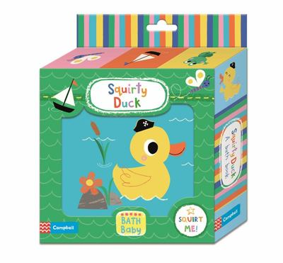 Squirty Duck Bath Book
