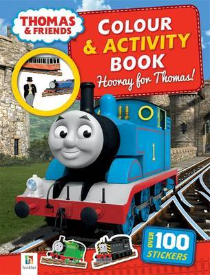 Hooray for Thomas! (Thomas and Friends Colour and Activity Book)