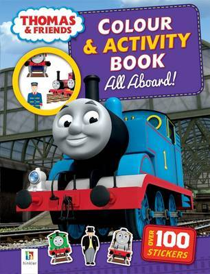 All Aboard! (Thomas and Friends Colour and Activity Book)
