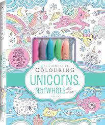 Kaleidoscope Colouring Unicorns Narwhals and More
