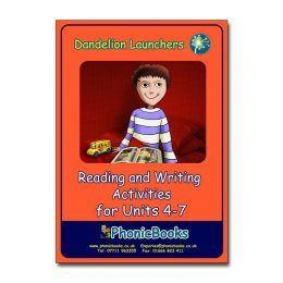 WR12 Dandelion Launchers Reading and Writing Activities for Units 4-7