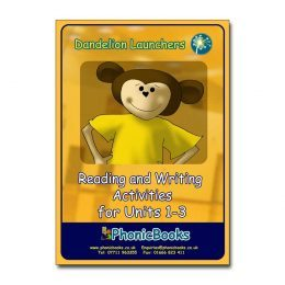 WR11 Dandelion Launchers Reading and Writing Activities for Units 1-3