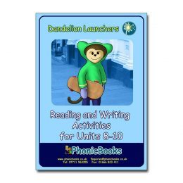 WR13 Dandelion Launchers - Reading and Writing Activities for Units 8-10