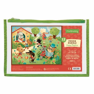 Puppy Playtime Pouch Puzzle