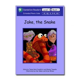 DR15 Dandelion Readers Level 3 Books 1-14 (14 books) Jake the Snake