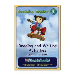 WR1 Dandelion Readers Set 1 Units 1-10 Reading and Writing Activities SAM