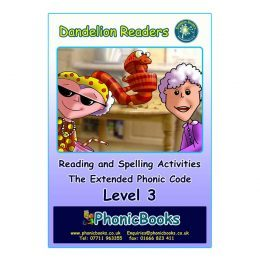 WR17 Dandelion Readers Level 3 Reading and Spelling Activities