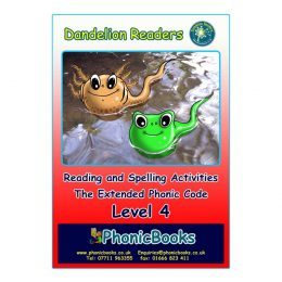 WR20 Dandelion Readers Level 4 Reading and Spelling Activities