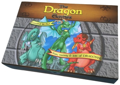 The Dragon Games (Maths Card Game)