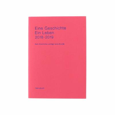 2019 Diary Delfonics B6 Linen pink weekly notes