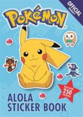 The Official Pokémon Alola Sticker Book