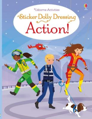 Action: Sticker Dolly Dressing Action