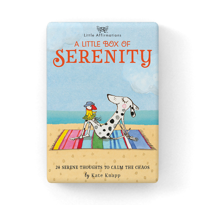 A Little Box of Serenity: 24 Affirmation cards