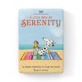 A Little Box of Serenity: 24 Serene Thoughts to Calm the Chaos  (Boxed Set of Little Affirmations Cards)
