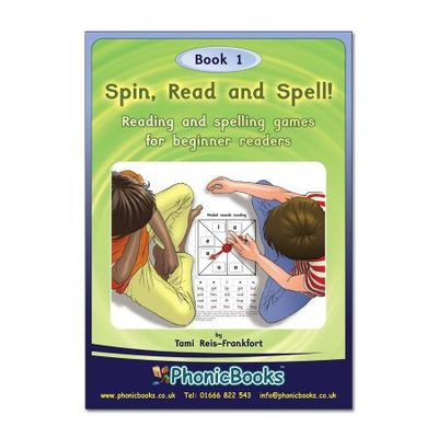 SP1 Spin, Read, and Spell Book 1