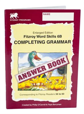 Word Skills Answer Book 6B