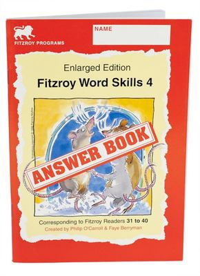 Fitzroy Word Skills Answer Book 4