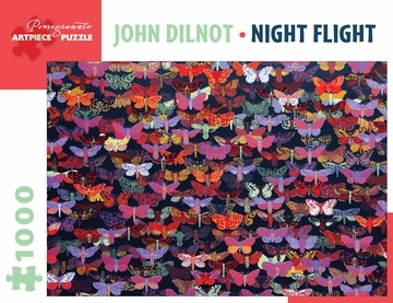 John Dilnot: Night Flight 1000-Piece Jigsaw Puzzle