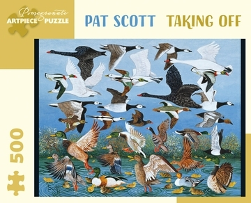 Pat Scott: Taking Off 500pcs