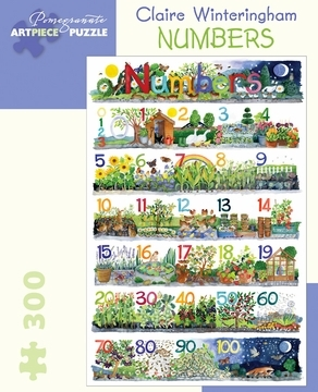 Claire Winteringham: Numbers 300pcs