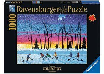 Sundown And Stars 1000pc Jigsaw Puzzle