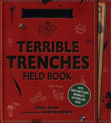 Terrible Trenches Field Book (Horrible Histories)