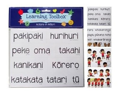 Actions in Maori (Magnetic Learning Resources)