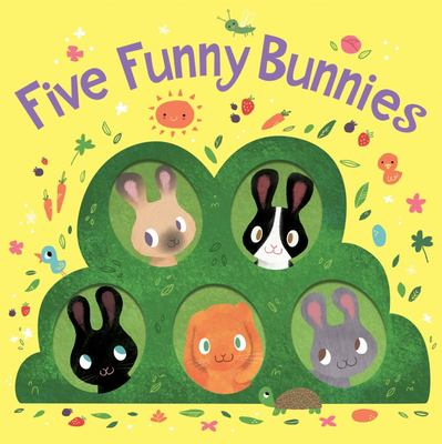 Five Funny Bunnies (board Book)