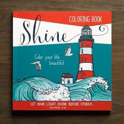 Shine (Adult Coloring Book)