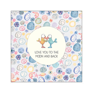 K246 Love you to the Moon and Back card