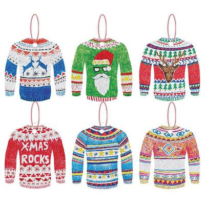 CHRISTMAS SWEATERS TAGS
