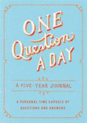 One Question a Day - A Five-Year Journal