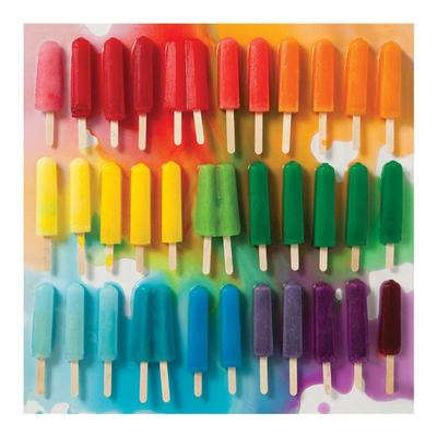 Rainbow Popsicles 500-piece Jigsaw Puzzle