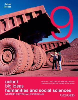 Oxford Big Ideas Humanities and Social Sciences 9 WA Curriculum Student Book+obook Assess - Oxford
