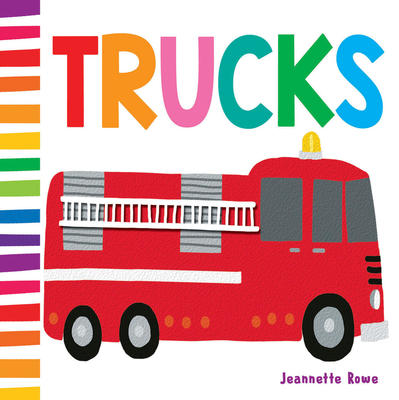 JR Baby Board Books Trucks