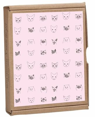 Cat Collective GreenNotes, Eco-Friendly, All Occasion Boxed Notecard Set