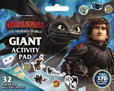 How to Train Your Dragon: the Hidden World - Giant Activity Pad