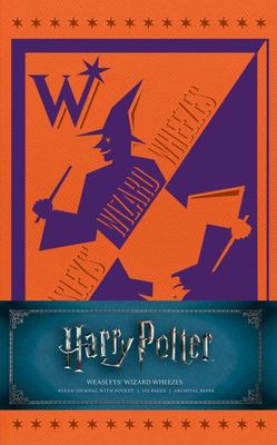 Harry Potter Weasley's Wizarding Wheeze Hardcover Ruled Journal