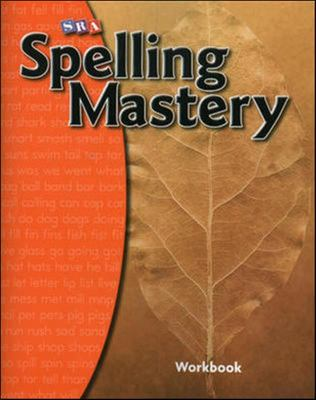 Spelling Mastery SRA Workbook - Level A - McGraw Hill