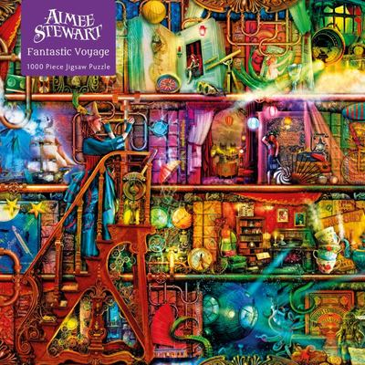 Fantastic Voyage / Aimee Stewart: 1000-piece Jigsaw Puzzle Flame Tree Studio