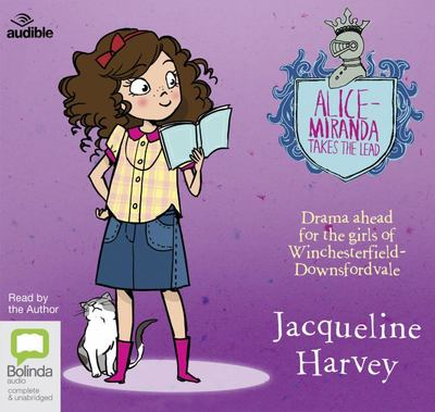 Alice-Miranda Takes the Lead (Audio CD)