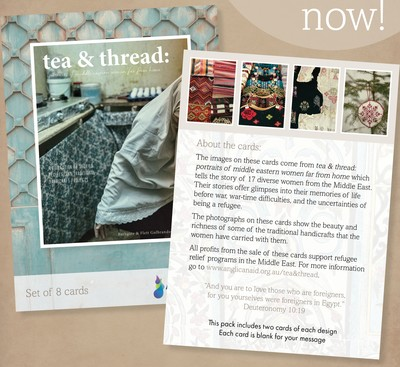 Tea and Thread Greeting Cards