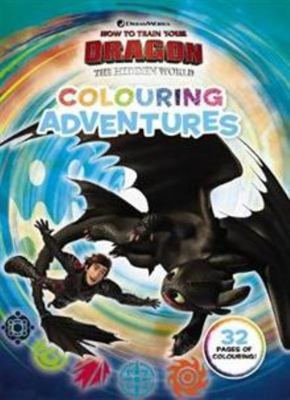 How to Train Your Dragon the Hidden World - Colouring Adventures