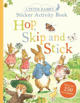 Peter Rabbit Hop, Skip, Stick Sticker Activity