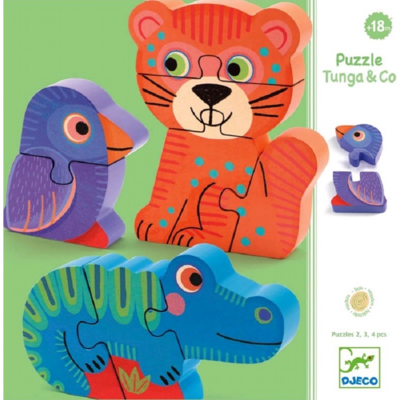 Tunga & Co Wooden Puzzle