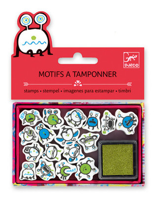 Little box of Emoticon stamps