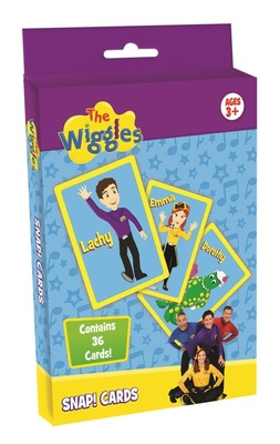 The Wiggles Snap! Cards