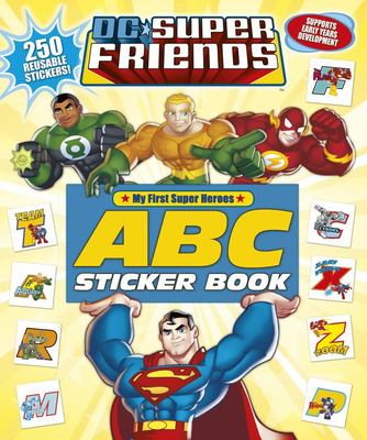My First Super Heroes ABC Sticker Book